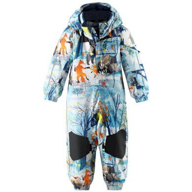 REIMA dětská kombinéza zimní les Maa Blue Dream