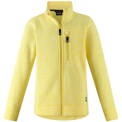 REIMA dívčí svetr Maaret Lemon Yellow