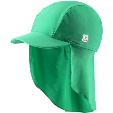 REIMA dětská čepice proti slunci Turtle-Jungle green