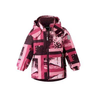 REIMA dívčí zimní bunda Maunu Raspberry Pink
