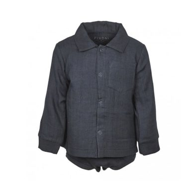 FIXONI chlapecké body alá košile tmavě modrá