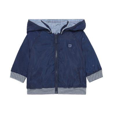MAYORAL chlapecká bunda s kapucí, tmavě modrá