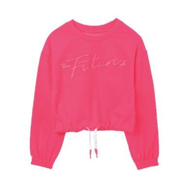 MAYORAL dívčí sportovní mikina neon růžová