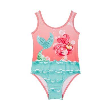 MAYORAL dívčí jednodílné plavky mořská víla, růžová/modrá