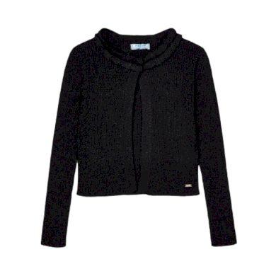 MAYORAL dívčí třpytivý svetřík, černý