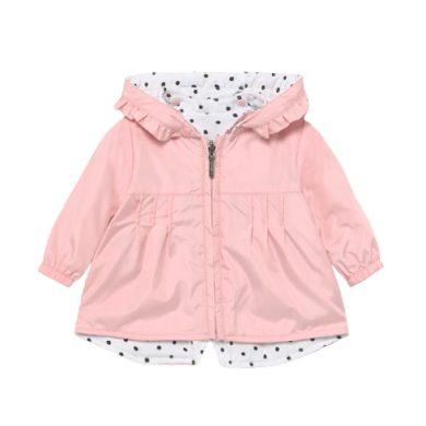 MAYORAL dívčí oboustranná bunda růžová/puntíky bílá a černá