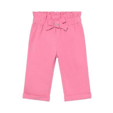 MAYORAL dívčí kalhoty na gumu v pase, růžové