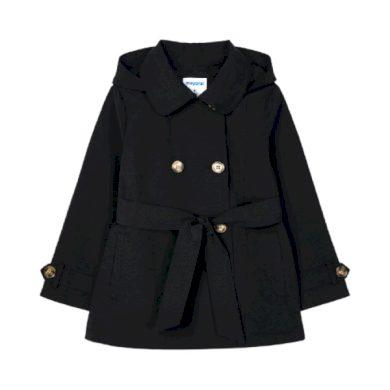 MAYORAL dívčí kabátek s kapucí, černý