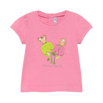 MAYORAL dívčí tričko KR růžové víly