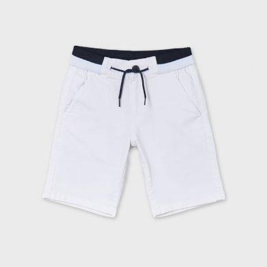 MAYORAL chlapecké kraťasy bílé