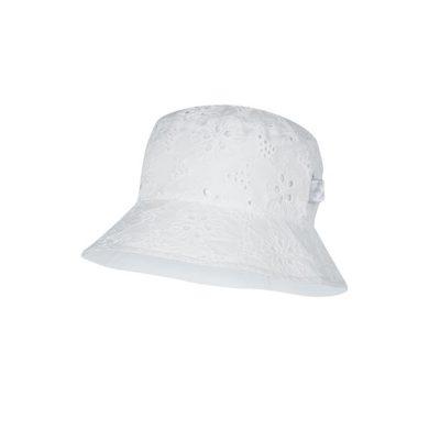 BROEL dívčí klobouček Gemma bílá