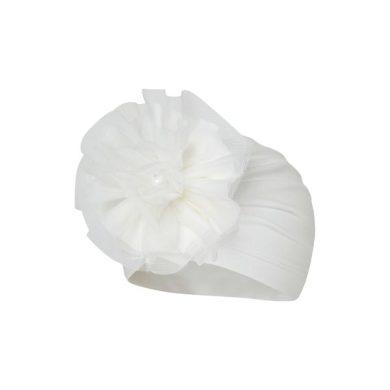 BROEL dívčí čepice čelíčko Agata krémová