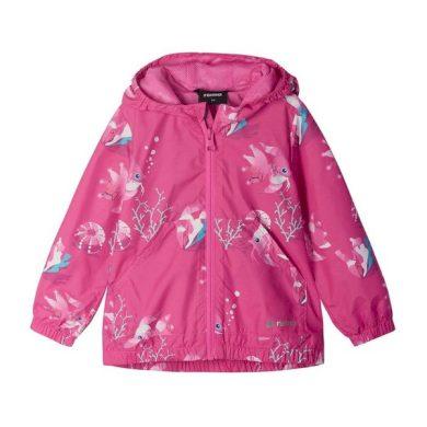 REIMA dívčí jarní bunda Hippasilla Fuchsia pink