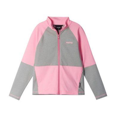 REIMA dívčí mikina Mieti Neon pink