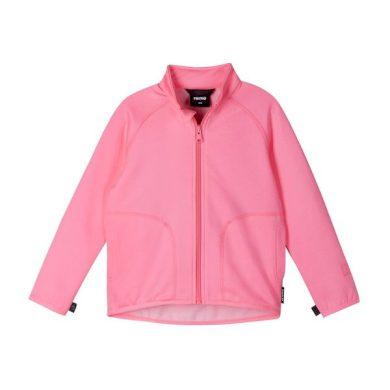 REIMA dívčí mikina Toimiva Neon pink