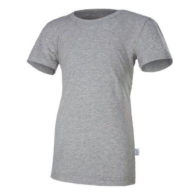 Tričko tenké KR Outlast® velikost 164, barva šedý melír