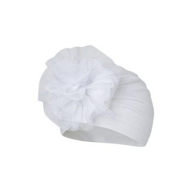 BROEL dívčí čepice čelíčko Agata bílá