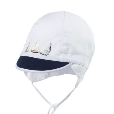 JAMIKS chlapecká kšiltovka ACTON lodičky modrý kšilt bílá