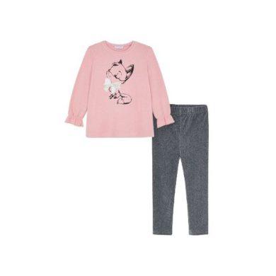 MAYORAL dívčí set svetřík a legíny liška růžová