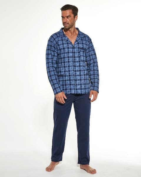 CORNETTE Pánské pyžamo 114/48  barva modrá, velikost L