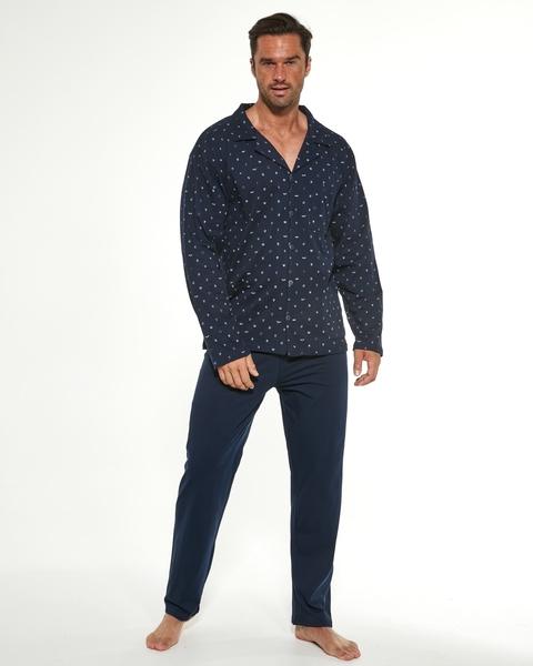 CORNETTE Pánské pyžamo 114/51 barva modrá, velikost L