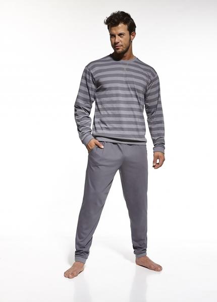 CORNETTE Pánské pyžamo 117/160 barva šedá, velikost XXL