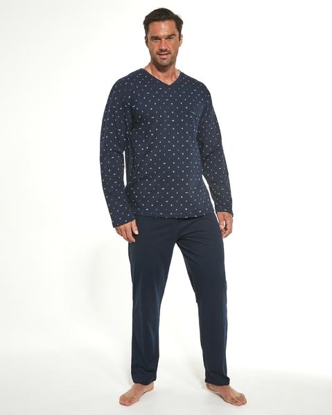 CORNETTE Pánské pyžamo 309/187 MARTIN barva modrá, velikost M