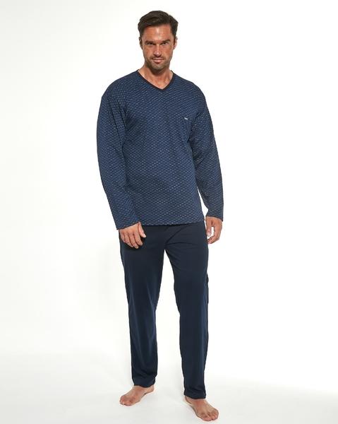 CORNETTE Pánské pyžamo 310/189 BILL barva modrá, velikost M