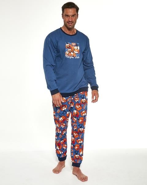 CORNETTE Pánské pyžamo 456/174 PUMPKIN barva modrá, velikost M