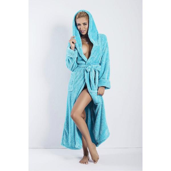 DKaren dámský župan Diana tyrkysový barva tyrkysový, velikost S