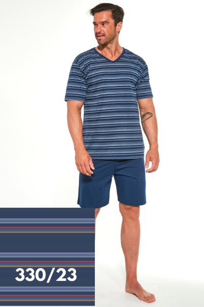 CORNETTE Pánské pyžamo 330/23 barva vícebarevné, velikost M