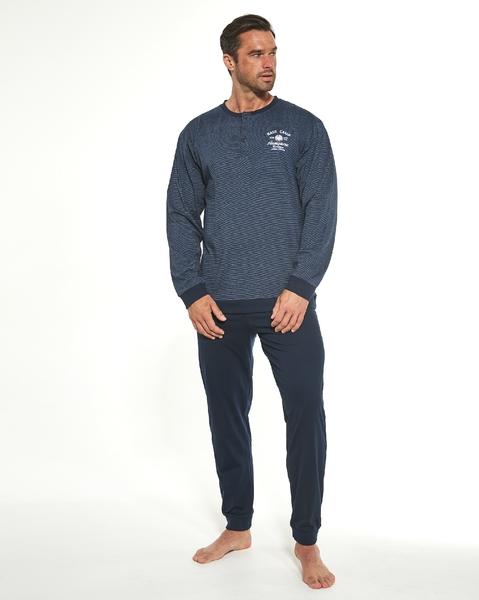 CORNETTE Pánské pyžamo 113/186 BASE CAMP 4 barva modrá, velikost M