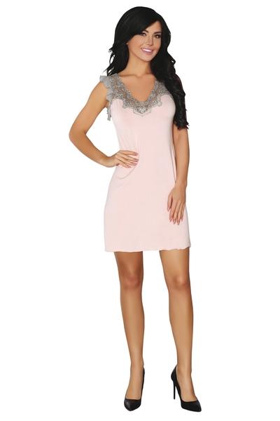 LivCo CORSETTI FASHION Dámská košilka Caelie  barva staro růžová, velikost S/M