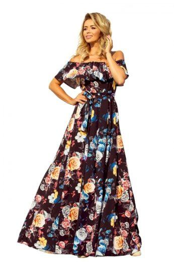 NUMOCO Dámské šaty 194-3 barva vícebarevné, velikost XS