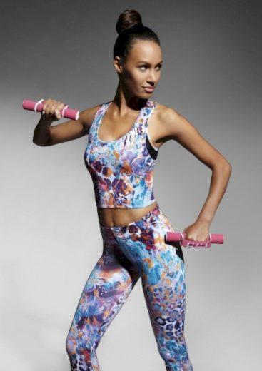 BAS BLEU Fitness top Caty 30 barva viz foto, velikost S