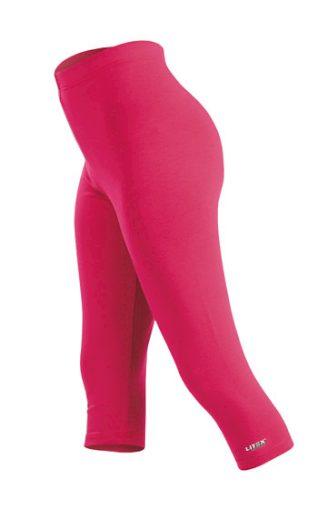 LITEX Legíny dětské v 3/4 délce 99419 barva růžová, velikost 122