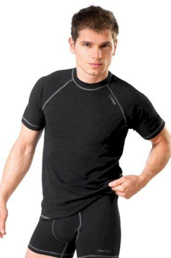 WINNER Pánské triko Classic V black barva černá, velikost S