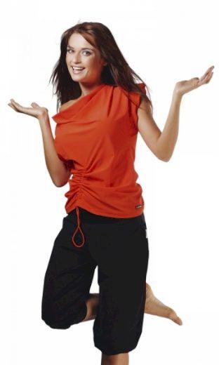 WINNER Fitness tričko Atena III orange barva oranžová, velikost S
