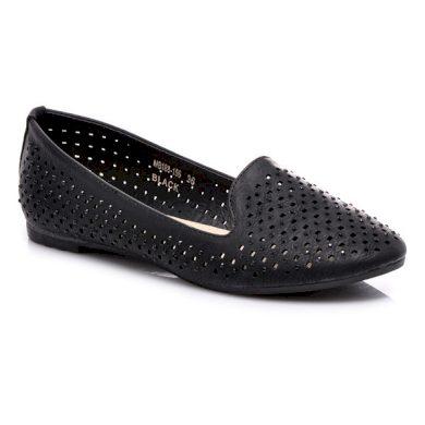 La Bella shoes Bezchybné černé baleríny velikost 36
