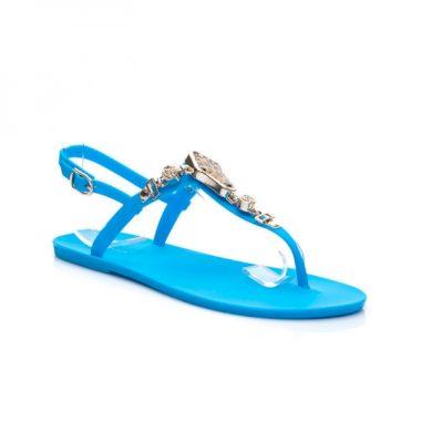 VICES Krásné modré dámské sandálky velikost 36