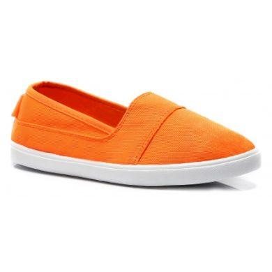 VICES Jednoduché oranžové dásmké slip on velikost 37