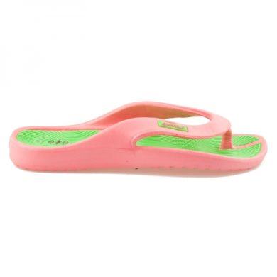 HAKER Růžové pohodlné žabky na léto velikost 36