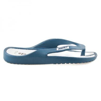 HAKER Tmavě modré pohodlné žabky na léto velikost 36