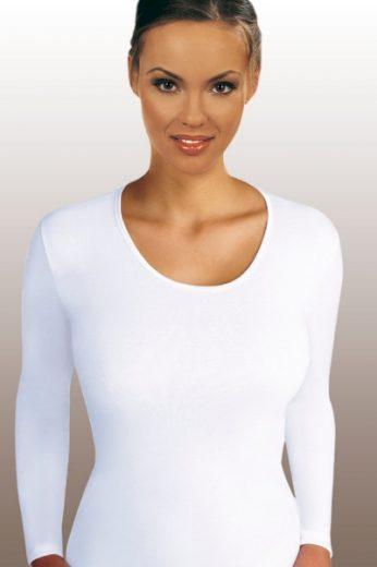 EMILI Dámské tričko Lena white barva bílá, velikost M