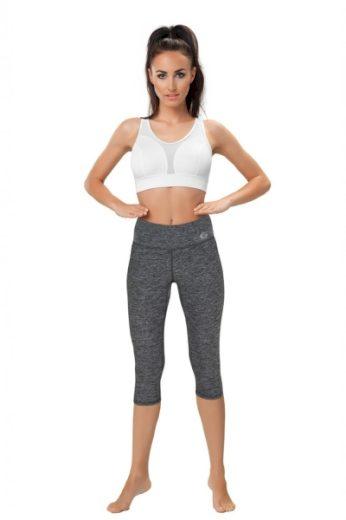 WINNER Fitness legíny Slimming capri II barva melanž, velikost XL