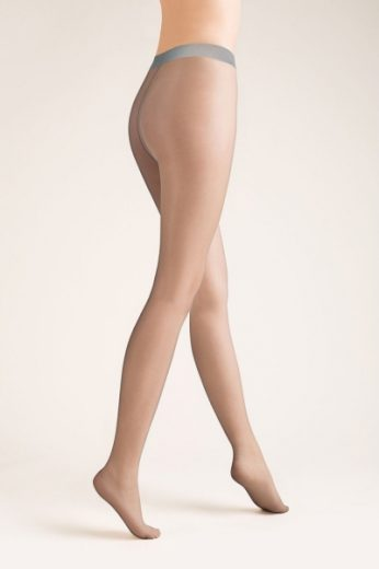 GABRIELLA Dámské punčocháče 100  Exclusive 8 den grigio barva šedá, velikost S