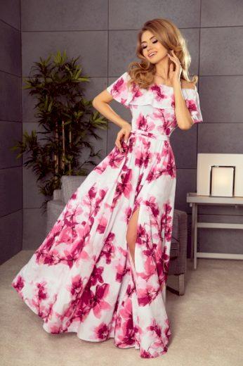 NUMOCO Dámské šaty 194-2 barva viz foto, velikost XS