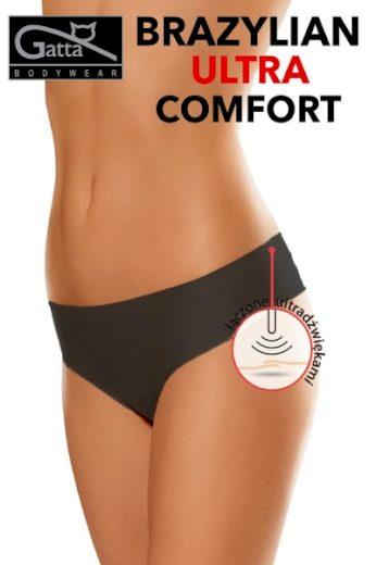 GATTA Dámské brazilky 1592s ultra comfort black barva černá, velikost S