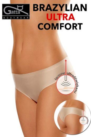 GATTA Dámské brazilky 1592s ultra comfort beige barva béžová, velikost S
