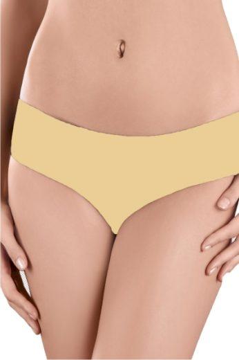 MODO Dámské kalhotky 121 beige barva béžová, velikost S